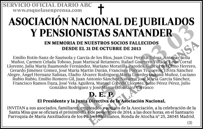 Asociación Nacional de Jubilados